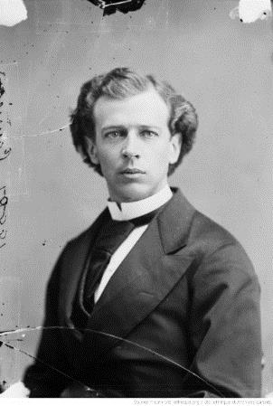 Wilfrid Laurier, Député de Drummond-Arthabaska, en avril 1874 : [photographie]/William James Topley